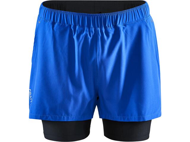 Craft ADV Essence 2-in-1 Stretch Shorts Men burst